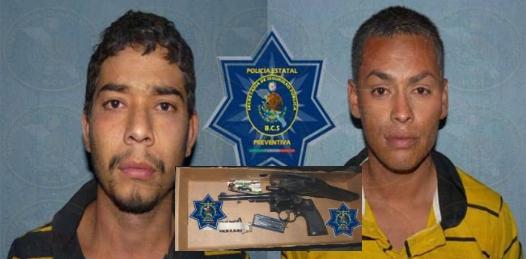 Detiene la PEP a los 2 presuntos asaltantes de Fidepaz