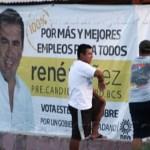 Que multe el IEE a precandidatos por no retirar su propaganda, exige el ayuntamiento