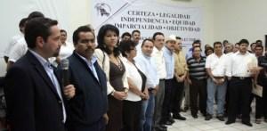 Quedaron registradas 3 alianzas ante el IEE: PRD-PT, PAN-PRS y PRI-Verde.