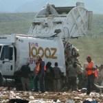 Asegura Aguiñe García que los carros recolectores pasan dos veces por semana y son insuficientes para llevarse la basura producida por el ejido.