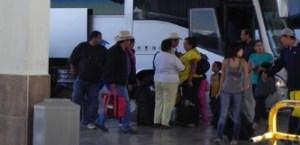 Ya todo vuelve a la normalidad, ya que como tradición mexicana se vivió este éxodo masivo de gentes que salieron y pernoctaron a esa ciudad por los mismos motivos.