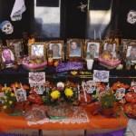 La Policía Ministerial del estado montó un altar de muertos dedicados a los compañeros oficiales que se han adelantado en la partida, algunos caídos en el cumplimiento de su deber.