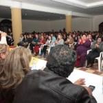 """Conmovido por el respaldo de las mujeres comundeñas, dijo que """"la propuesta de Luis Armando Díaz, va mucho más allá de cumplir con una cuota de género, va mucho más allá de venir aquí frente a ustedes y en el discurso decirles que vamos a aplicar políticas públicas con perspectiva de género."""