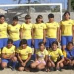 Lista para la Olimpiada Estatal, la selección infantil de futbol de La Paz que dirige Carlos Morales.