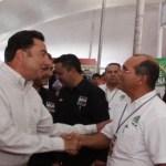 El gobernador Narciso Agúndez destacó la organización y contribución de los miembros de la CMIC al desarrollo social y económico de baja California Sur al inaugurar la XVII Expo Construcción Comercial y de Servicios.