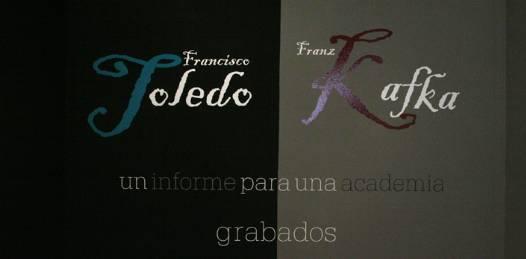 Presentan grabados de Francisco Toledo: Un informe para una academia