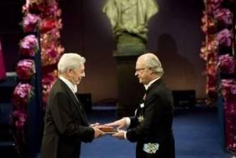 Mario Vargas Llosa: Elegio de la lectura y la ficción