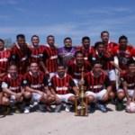 Tribunal Superior de Justicia se mantiene en la pelea por el campeonato en el futbol de la Liga Burocrática.