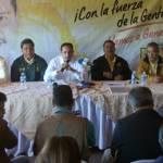 En conferencia de prensa, el candidato a gobernador por la coalición, Luis Armando Díaz mencionó que espera se acaben las difamaciones que ya lo tocan en niveles personales.