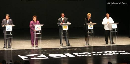 Y para algunos, el debate se volvió debacle