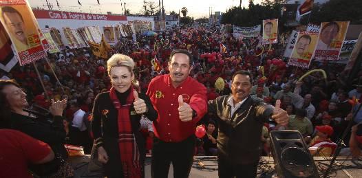"""Cierra LAD campaña en La Paz. """"Tenemos las preferencias ciudadanas"""", asegura"""