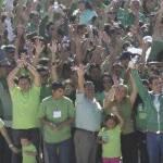 Luis Armando Díaz, por la mañana del domingo participó como un ciudadano más en un acto masivo en el arroyo El Tule de Cabo San Lucas para hacer un llamado de alerta a las autoridades federales y no autoricen la instalación de minería tóxica en la Sierra de la Laguna.