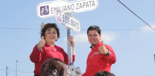 Coloca nomenclatura Esthela Ponce en la Guerrero