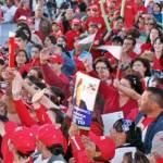 Asistentes de los medios nacionales avalaron que en cuanto a cantidad de asistentes el evento de cierre de campaña de Ricardo Barroso igualó uno de otro partido que tuvo lugar la semana pasada en el mismo local.