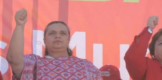 Grave error la declinación de Marcos: Beatriz Paredes