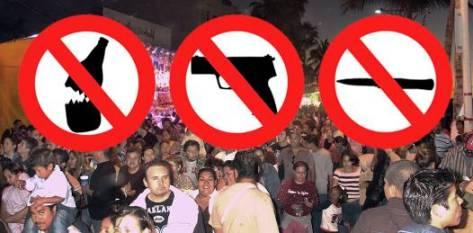 """La seguridad estará distribuida en 8 sectores, comenzando en la calle Guadalupe Victoria y terminando en la calle Márquez de León, al igual que habrá grupos de  comandos trasladándose """"a pie"""" a lo largo de los puntos de bocacalle resguardados."""