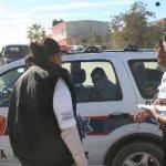 Fuentes cercanas al comandante de tránsito municipal de apellido Meza, señalaron que Jorge Sánchez es un activista del PRD-PT y fue detenido por la policía municipal por agredir a ciudadanos que acudían a votar. Pero lo grave del caso es que está al frente de un comando armado con armas punzocortantes con las que el grupo de choque que impacto a un vehículo de ciudadanos simpatizantes del PAN-PRS, inmediatamente bajaron a ponchar las llantas.