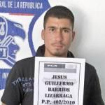 Jesús Guillermo Barrios Lizárraga.