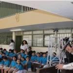El orador oficial Vladimir Torres Navarro, director de Comunicación Social municipal del ayuntamiento de La Paz destacó al 18 de marzo como una fecha para reflexionar, recordando las acciones que han permitido conservar la riqueza nacional para los mexicanos.