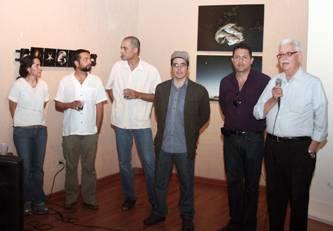El CCLP recibió a los pintores, entre los que destacaron Efrén Olalde, Aníbal Angulo, Francisco Merino, Leonardo Díaz, Marina Verdugo y otros para nada menos ponderables.