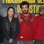 Elías Gómez Gómez alias El Michoacano, Renato León Atondo, Justo Antonio Mojardín y Decarely Guadalupe Barraza López
