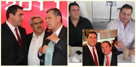 A Barroso Agramont también se le vio con otro personaje, se trata del alcalde de Tijuana, Francisco Pérez Tejeda, sorprende la cercanía con la política bajacaliforniana que durante la campaña electoral estuvo casi ausente.