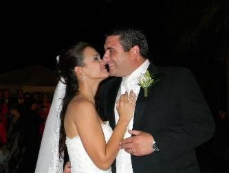 Unieron sus vidas Angelina y Ricardo