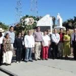 Los priistas se reunieron en la explanada del Teatro de la Ciudad para recordar el 17 aniversario de la muerte de Luis Donaldo Colosio.