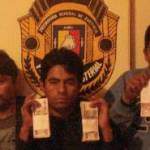 Luis Lara Chaparro, Rodolfo Gutiérrez Bustamante y Juvencio Martínez Gerardo.