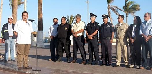 Dan banderazo de salida a operativo de seguridad Semana Santa