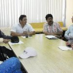El Dr. Félix Alfredo Beltrán Morales, Líder del CASUZA y el Dr. Juan Carlos Rodríguez Ortiz, líder del CAMADS, firmaron proyecto de acuerdo de colaboración.