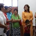 Niños, jóvenes y adultos, con discapacidad visual pueden utilizar el equipo instalado en la escuela de educación especial.