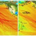 """En dos puntos del """"triángulo de fuego"""" ha habido fuertes terremotos acompañados de tsunamis, la otra arista está localizada en las costas de California."""