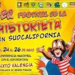 Sixto Valencia, dibujante inventor de Memin Pingüín, inauguró el Festival, en el Centro de Convenciones e Identidad Sudcaliforniana.
