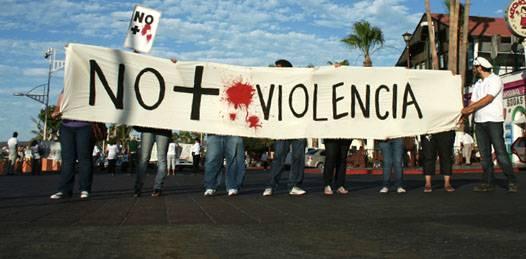 """Convocan a segunda manifestación """"No más sangre"""""""