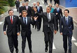 Dominaron las amenazas  cierre de Cumbre del G8
