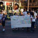 El principal propósito de los participantes en la marcha fue solicitar al Gobierno del Estado la rápida aprobación de leyes que permitan fincar responsabilidad penal a aquellas personas que provoquen algún tipo de maltrato a los animales.
