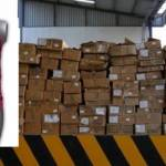 El arribo de esta mercancía que era transportada en un vehículo de carga con placas de adscripción federal a tierras sudcalifornianas fue por el puerto de Pichilingue.