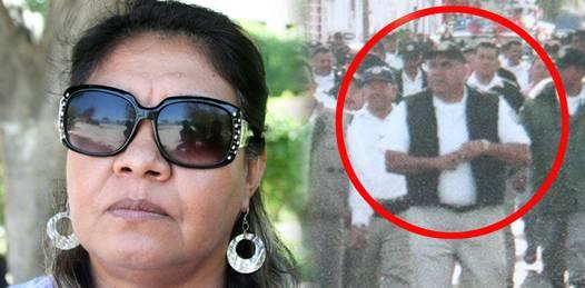 Después de casi 4 años, sigue clamando justicia la viuda de comandante policiaco asesinado