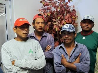 Se quejan albañiles del desplazamiento de la mano de obra local