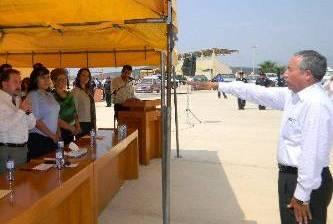 Rindió protesta el nuevo delegado de La Ribera