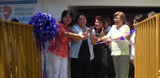 Inauguran centro de atención para mujeres victimas de la violencia