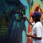 """Eduardo Leyva Zénok indicó que la mala imagen del graffiti se debe a que el tag (las placas) prolifera en La Paz, estancados en los ochentas. """"No hacen algo más elaborado, no hacen algo más creativo, una propuesta, un soporte que tenga el graffiti."""