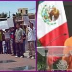 Un contingente de trabajadores de la construcción manifestantes contra el poder judicial habrá de entrevistarse con la Alta Comisionada de la ONU para los Derechos Humanos Navanethem Pillay, quien se encuentra en una visita en el país y a quien han solicitado audiencia confirmada el próximo sábado para plantearle su situación.