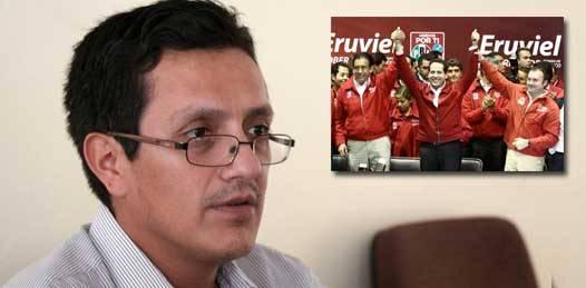 """""""Preocupado"""" el  PRD por el """"probable"""" reposicionamiento del PRI"""