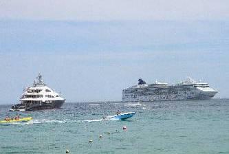 Garantizan a navieras la seguridad de los turistas de cruceros