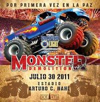 Promete Monster Trucks Demolition el mejor espectáculo del verano