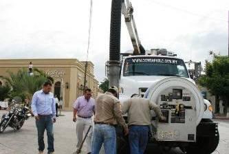 Inician mantenimiento en 300 pozos en el municipio