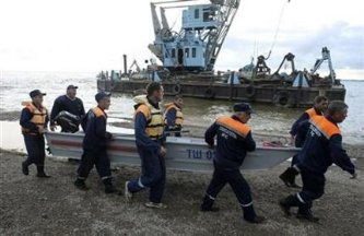 Hay pocas esperanzas de hallar vivos a más náufragos del Volga
