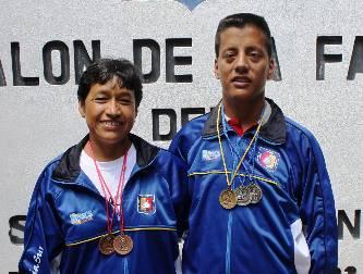 Triunfan atletas sudcas en el nacional master de Aguascalientes